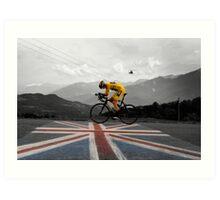Chris Froome - Tour de France Champion Art Print