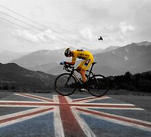 Chris Froome - Tour de France Champion by Eamon Fitzpatrick