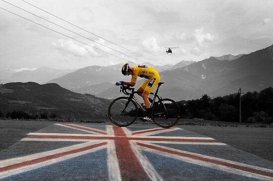 Chris Froome - Tour de France Champion by Eamon Fitzpatrick