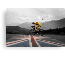 Chris Froome - Tour de France Champion Canvas Print