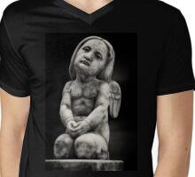 Little Angel Mens V-Neck T-Shirt