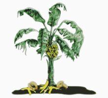 Wacky, funny bananas T shirt by Sevetheapeman