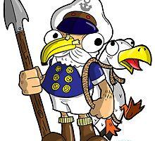 Captain Ahab by Madcapleague