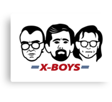 The X-Boys Canvas Print