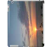 Sunset, Anclote Park Pier, Holiday, FL iPad Case/Skin