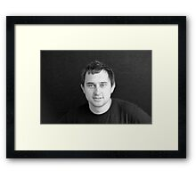 HAVE A PROFESSIONAL PHOTO SHOOT TAKEN Framed Print