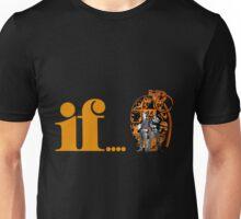 if... (orange) with grenade Unisex T-Shirt