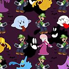 Luigi's Mansion Pattern by SaradaBoru