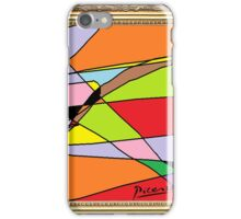 Picasso paint iPhone Case/Skin