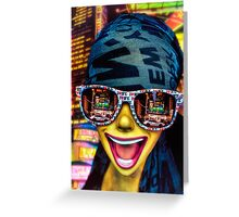 The New York City Tourist Greeting Card