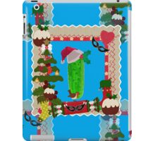 ugly christmas pickle iPad Case/Skin
