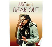 Just don't freak out - Cosima Orphan Black Poster
