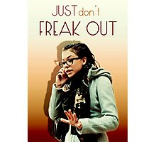 Just don't freak out - Cosima Orphan Black Photographic Print