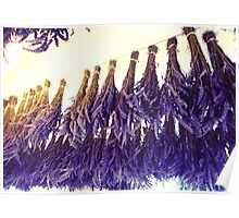 Drying Lavender 2 Poster