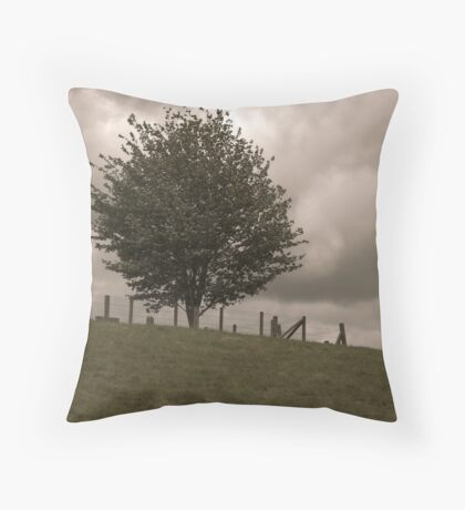 Cemetery Hill Throw Pillow
