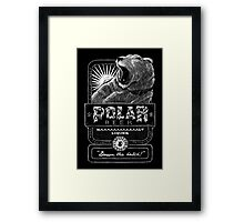 Polar Beer Framed Print