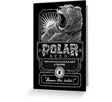 Polar Beer Greeting Card