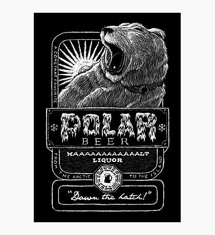 Polar Beer Photographic Print