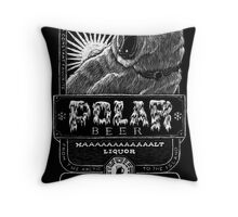 Polar Beer Throw Pillow