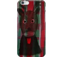 Christmas - The little cute Reindeer - Art for Kids iPhone Case/Skin