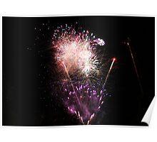 Fireworks @ Tivoli Gardens, Copenhagen Poster