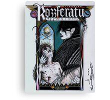 Rozzferatu - Fan Art for Rozz Williams Canvas Print