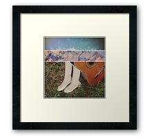 A Touch so Foreign Framed Print