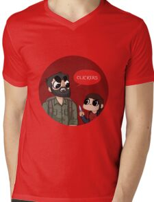 Clickers Shirt - The Last of Us Mens V-Neck T-Shirt