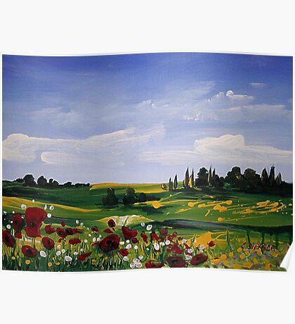 Countryside Splendor Poster