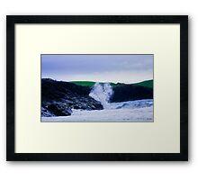 Ocean Spray, Clachtoll Beach Framed Print