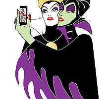 Grimhilde & Maleficent Selfie by SwanStarDesigns