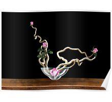 C.E. Rose Tree Floral Art Poster