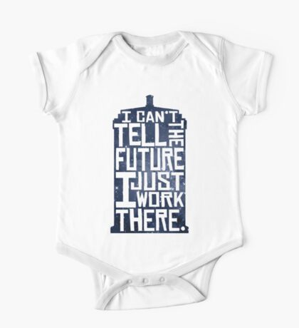 I Can't Tell The Future One Piece - Short Sleeve