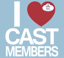 I Heart Cast Members (Anahiem) T-Shirt