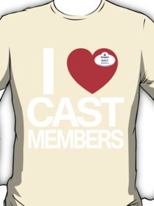 I Heart Cast Members (Anahiem) T-Shirt