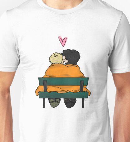 We Can't Cuddle, It's a Crimescene Unisex T-Shirt