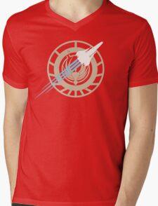 Battle Stars Mens V-Neck T-Shirt