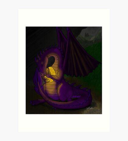 Momma Dragon Art Print