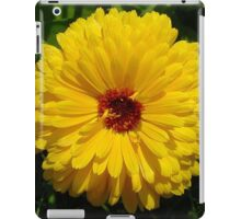 Holligold Blossoming Yellow Pot Marigold Flower iPad Case/Skin