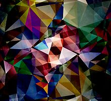 Abstract Angles of Color by Phil Perkins