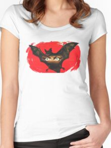 Batty! Women's Fitted Scoop T-Shirt