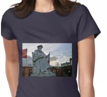 High and Mighty............Exeter Devon UK Womens Fitted T-Shirt