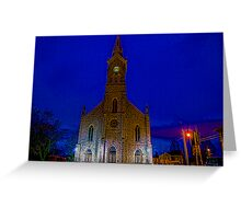 St Mary's in Port Washington Wisconsin Greeting Card