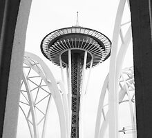 The Space Needle by Tanya Shockman