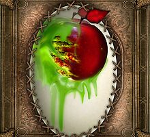 Poison Apple (Art Print) by Lauren Trudgeon