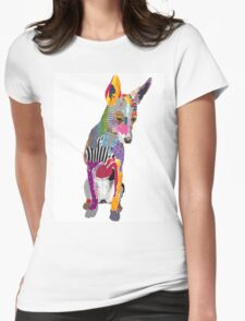 Dog Portrait II Womens Fitted T-Shirt