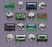 Skulls and creepy Tapes by lab80