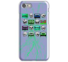 Skulls and creepy Tapes iPhone Case/Skin