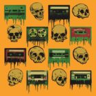 Skulls and creepy Tapes 2 by lab80