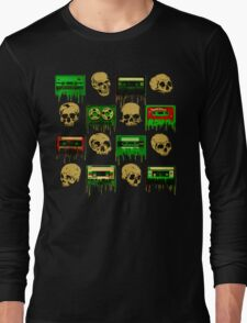 Skulls and creepy Tapes 2 Long Sleeve T-Shirt
